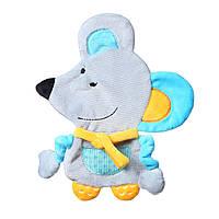 Игрушка-обнимашка с шелестением  мышонок Кирстин Baby Ono (445), фото 1