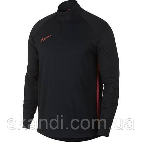 Толстовка мужская Nike Dri-FIT Academy Drill Top черная AJ9708