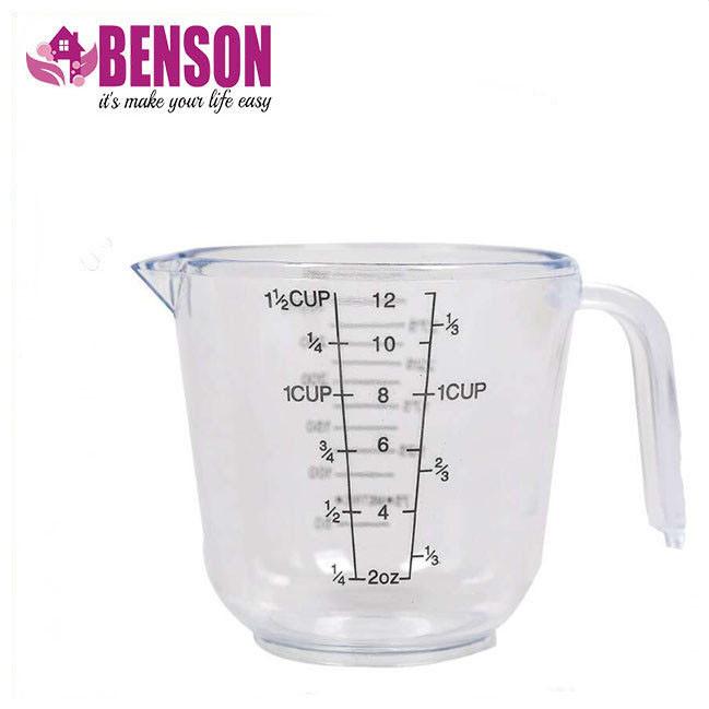 Мерный стакан пластиковый с ручкой Benson BN-1018 300 мл | Мерная чаша
