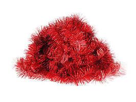 Мішура пухн. L=2,4м d=50мм червона 10шт ТМЯБЛОНСКИЙ