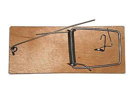 Мишоловка плоска деревяна 45х105мм ТМАМЕКС