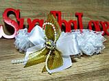 Подвязка Stile. Цвет золотистый., фото 2