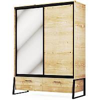 Шкаф 2Д2Ш Лофт Світ Меблів