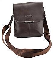 Мужская сумка POLO Videng Mini Dark Brown