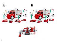Игровой набор для мальчиков «Парковка-трек пожарная техника» 2 вида