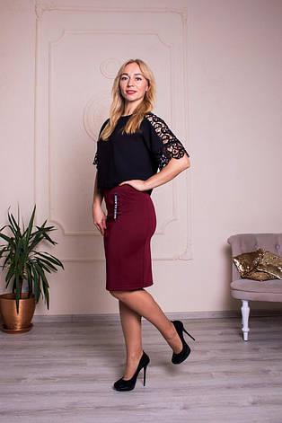 """Женская юбка """"Верона"""" размеры 44-54, фото 2"""