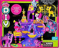 Игровой набор Замок Домик Литл Пони, фигурки пони, украшения,аксессуары,SM1017