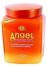 Маска для жирной кожи головы с замороженной морской грязью Angel Professional, 1000 мл