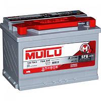 Автомобильный аккумулятор Mutlu SFB Techn 6СТ -75Ah 720А  ++--