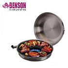 Сковорода гриль-газ Benson BN-802 с антипригарным покрытием | Сковородка для гриля, фото 2