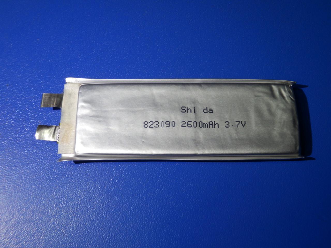 Акумулятор Li-pol DBK 823090 3,7 2600mAh-12C