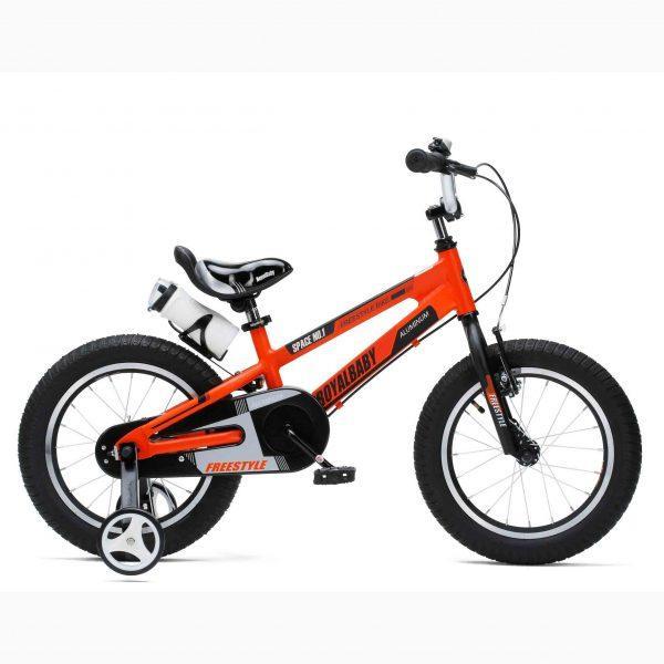 """Детский велосипед RoyalBaby SPACE NO.1 R18"""" алюминиевый (Оранжевый)"""