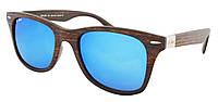 Стильные солнцезащитные очки Beach Force Wayfarer BF520K 52-20-147 + чехол
