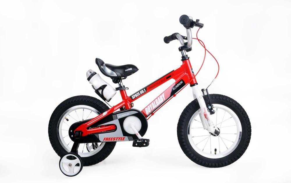 """Детский велосипед RoyalBaby SPACE NO.1 R18"""" алюминиевый (Красный)"""
