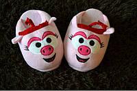 Тапочки игрушки женские Смешарики Нюша Размер 25 - 45