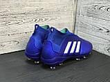 Бутсы Adidas Predator 18+FG/адидас предатор без шнурков, фото 2