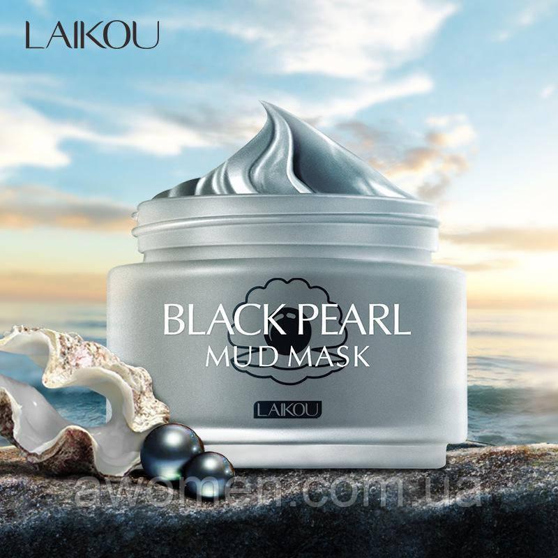 Маска для обличчя Laikou Black Pearl Mud Mask 80 g