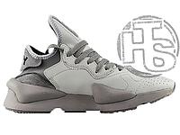 Мужские кроссовки Adidas Y-3 Kaiwa Chunky Low Wolf Grey ND008031