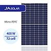 Солнечная панель JA Solar JAM72D10-405/MB 405 Вт, Mono MultiBusBar