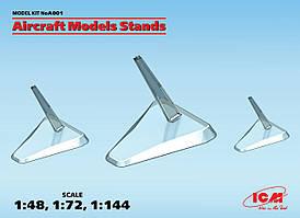 Подставка для моделей авиации в масштабе 1:48, 1:72, 1:144. ИСМ А001