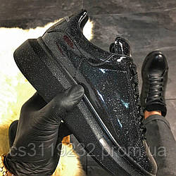 Женские кроссовки Galaxy (черные)