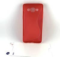 Чехол накладка для Samsung A5 2015, A500 на заднюю панель Premium Case + пленка