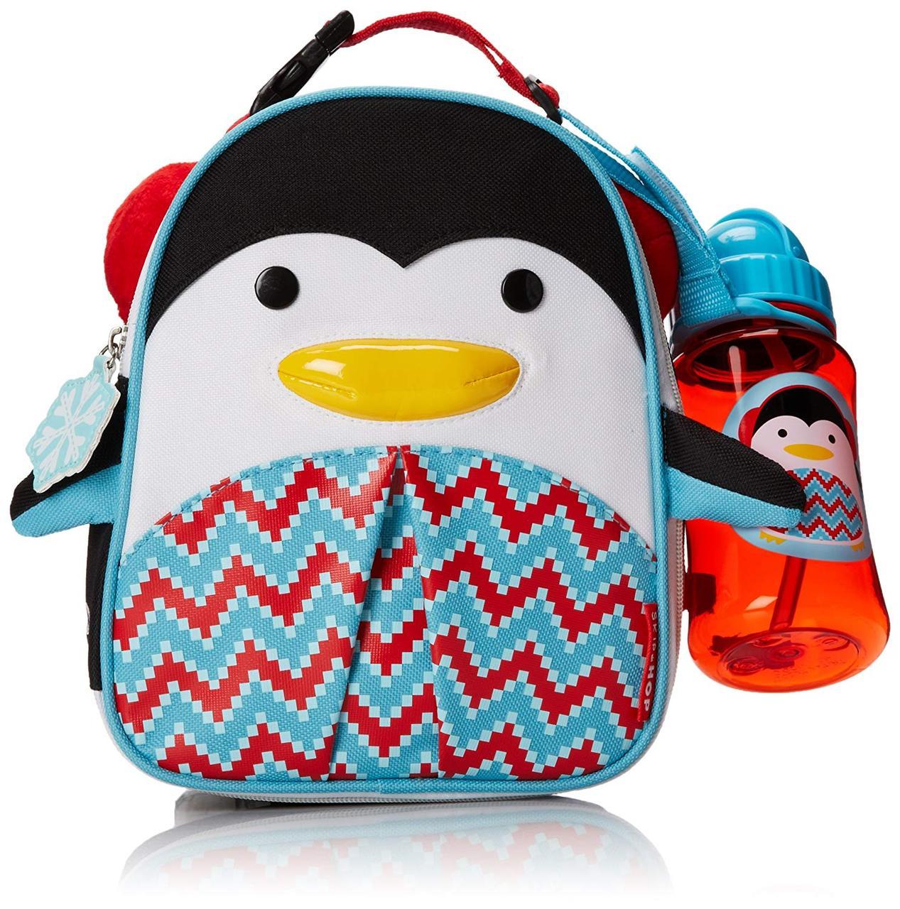 Детская термо-сумка (ланч бокс с бидончиком) Zoo пингвин, Skip Hop212513