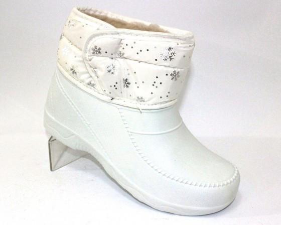 Модные белые дутики, фото 1