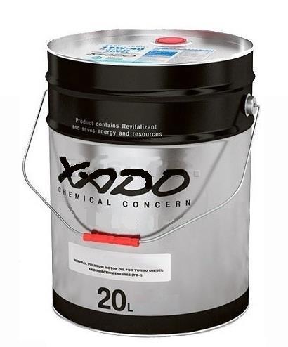 Концентрат антифриза для oхлаждения двигателя Xado Green 11 20л