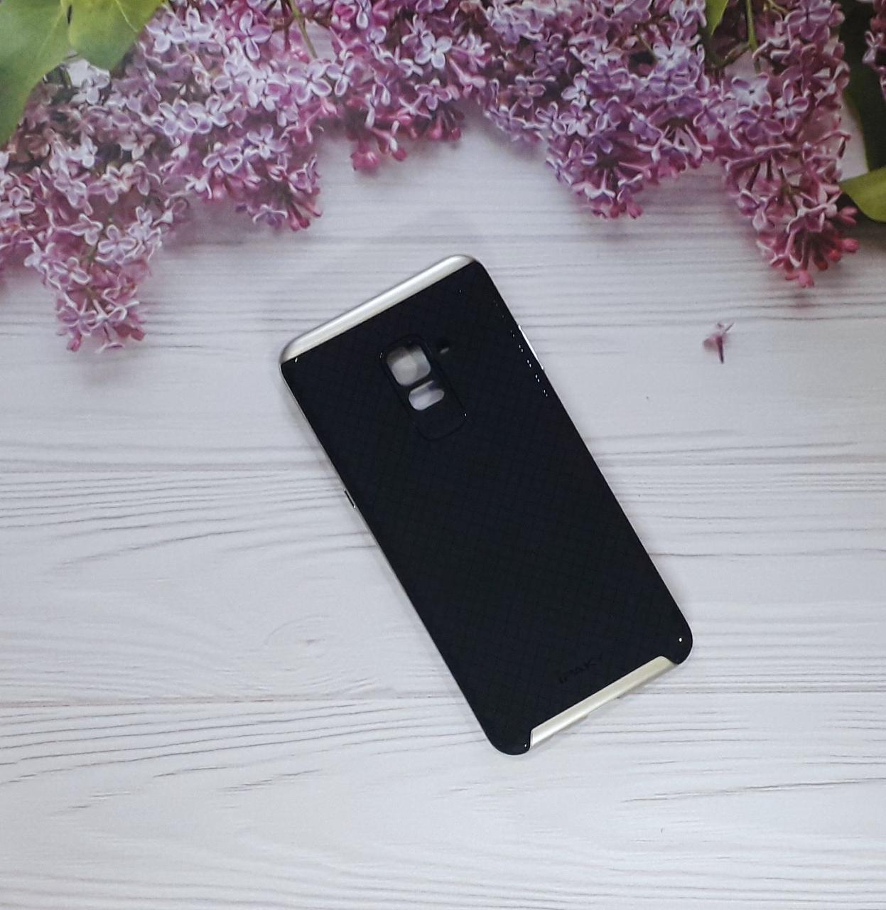 Чехол накладка Ipacky на Samsung A8 Plus (2018), Black
