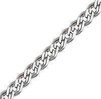 Серебряная цепочка НОННА, МОНА ЛИЗА 5 мм, 60 см, фото 1