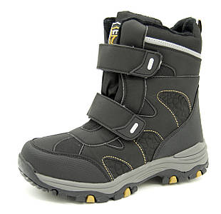 Ботинки для мальчика Черные Зима Размеры: 39, 40, 41