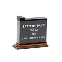 Aккумулятор Alitek для стедикам DJI Osmo Action AB1 / P01, 1300 мАч (70018)