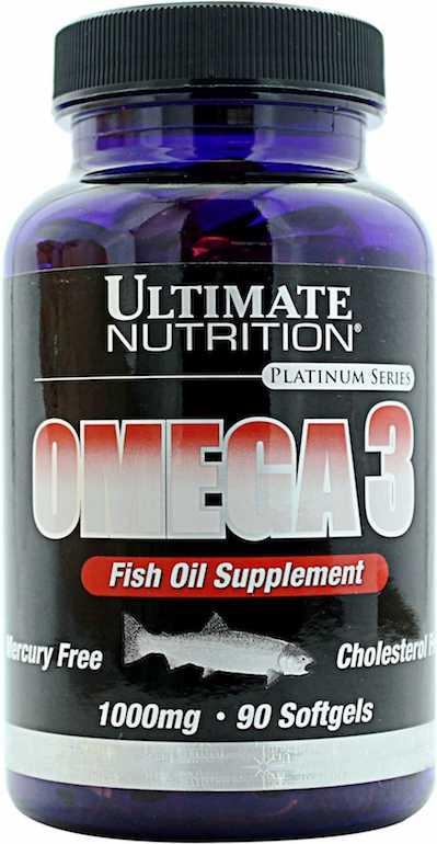 Рыбий жир ULTIMATE OMEGA 3 90 капсул