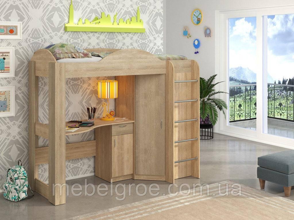 Кровать чердак Орбита тм Пехотин
