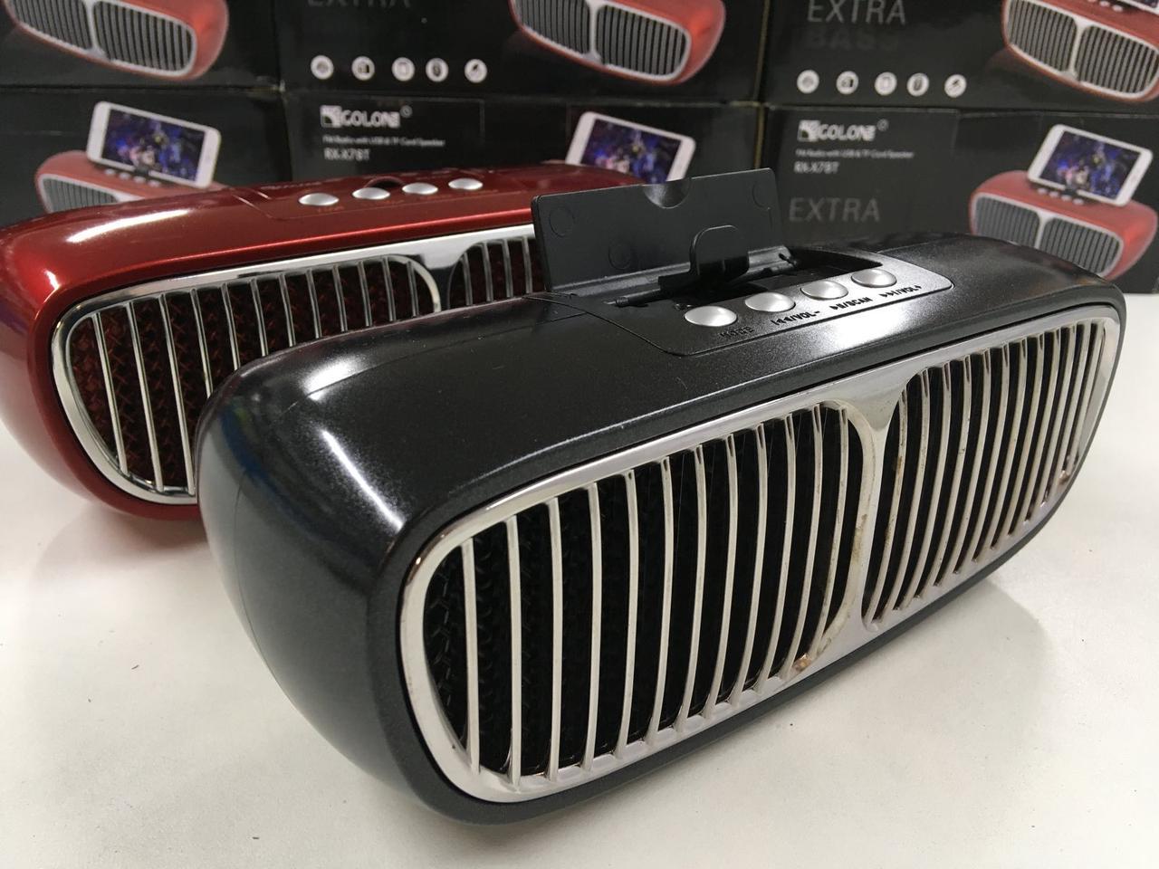Портативная колонкаGOLON RX-X7BT BluetoothMini-speaker