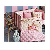 Tivolyo home КПБ BEBE FAMILY  розовый розовый