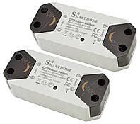 Безпровідний WiFi вмикач/вимикач Smart Home SS-8839-02 220V 10A/2200W (2 шт)