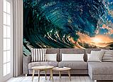 Фотообои на гребне волны разные текстуры , индивидуальный размер, фото 2