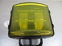 Дополнительная LED фара ближнего света GV-30W СТГ.- 1шт.- желтое стекло. https://gv-auto.com.ua, фото 1
