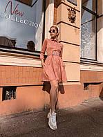 Платье женское замшевое  руд272, фото 1