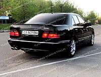 Лип спойлер AMG для Mercedes w210 сабля Мерседес 210, фото 1