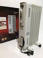 Обогреватель масляный Crownberg CB-7-S 1500W радиатор электрический на 7 Секций