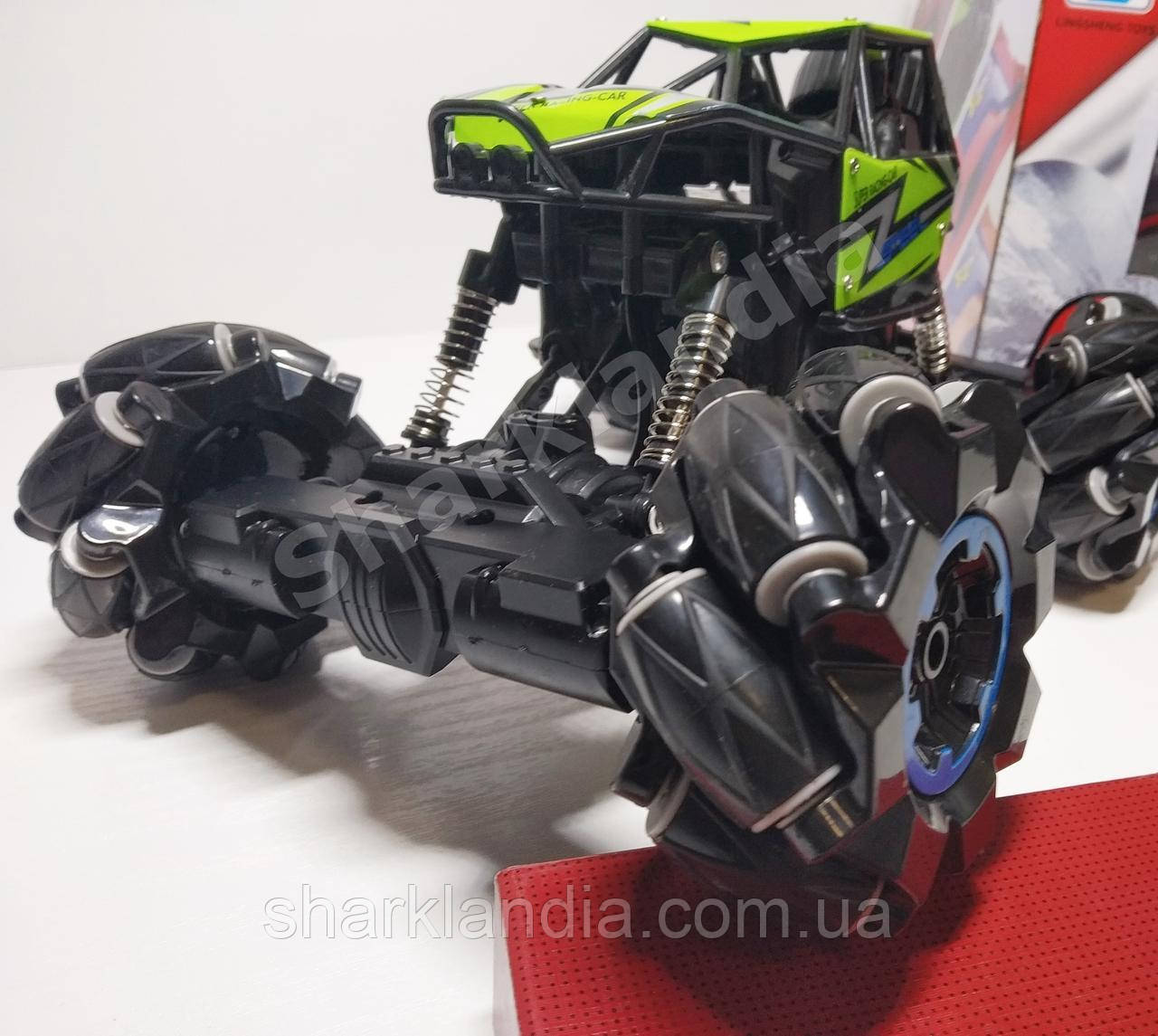 Хит 2020! Танцующая дрифт машинка на необычных колесах с роликами Своя музыка Drift Climbing King