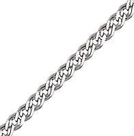 Серебряная цепочка НОННА, МОНА ЛИЗА 4 мм, 60 см, фото 1