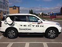 Дефлектора окон SsangYong Rexton  04-, 4ч