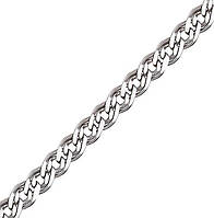 Серебряная цепочка НОННА, МОНА ЛИЗА 4 мм, 45 см