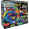 Гоночный трек Magic Tracks 360 деталей,  две машинки, гнущийся трек, светится в темноте, музыка