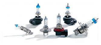 Лампы для основного света и противотуманных фар