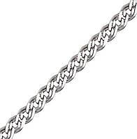 Серебряная цепочка НОННА, МОНА ЛИЗА 4 мм, 40 см